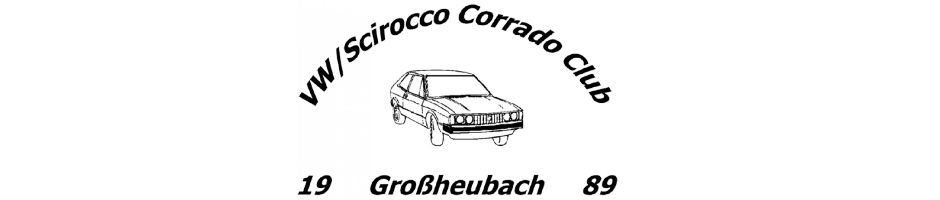53er.de VW – Scirocco – Corrado Club Großheubach